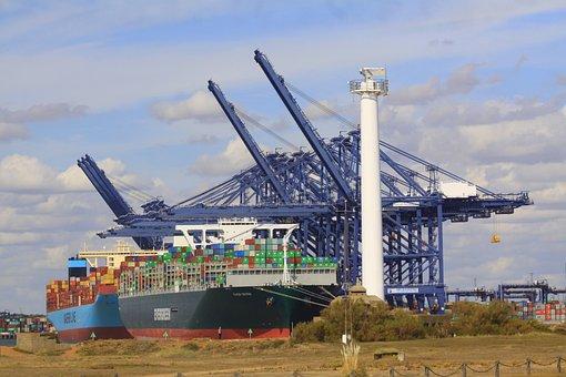 Container Ships, Port, Cargo, Cargo Ships, Ships