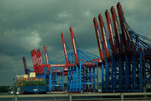 Container, Port, Maritime, Shipping, Traffic, Transport