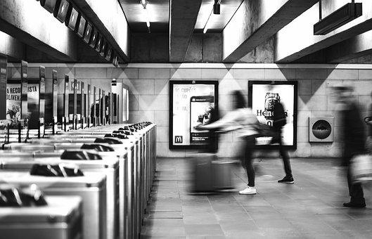 Subway, Station, Train Station, Subway Station