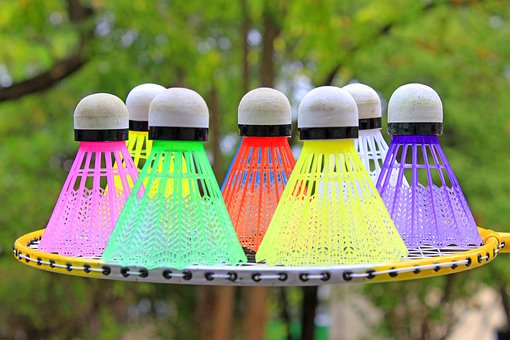 Shuttlecocks, Badminton, Badminton Set, Colorful