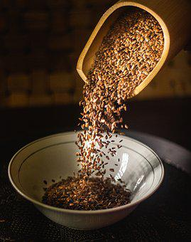 Grains, Bowl, Seeds, Falling, Bowl Of Seeds, Crop