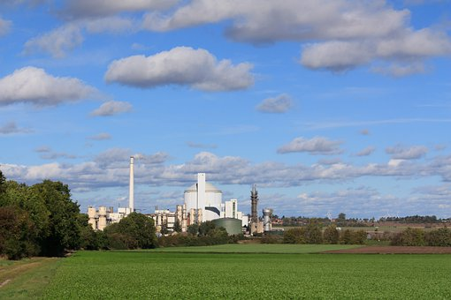 Sugar Factory, Industry, Company, Building, Field