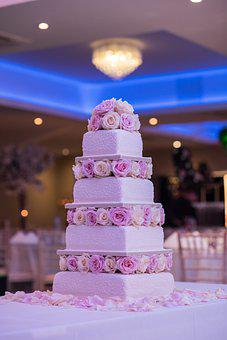 Wedding Cake, Cake, Wedding, Dessert, Floral Cake