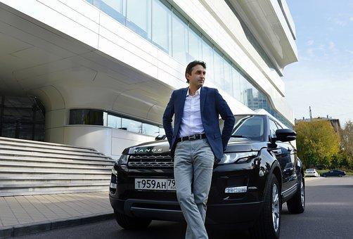 Car, Model, Portrait, Man, Men, Hai, Entrepreneur, Boss