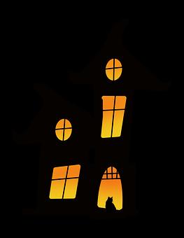 Halloween, Haunted House, Icon, Haunted, Halloween Icon