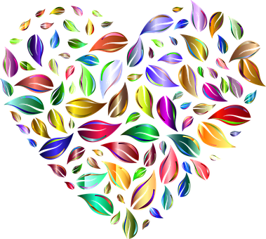Heart, Leaves, Nature, Symbol, Icon, Love, Greenery