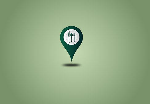 Location, Restaurant, Map, Gps, Direction, Icon
