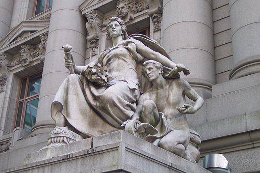 Statue, Monument, Sculpture, Marble Statue