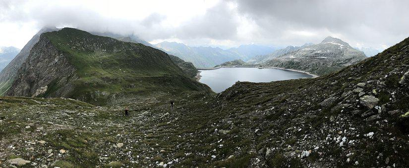 Panorama From The Lace Of The Naret, Naret Pond