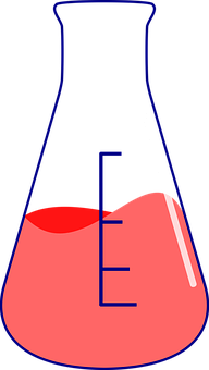 Conical, Tube, Chemical, Flask, Science, Test