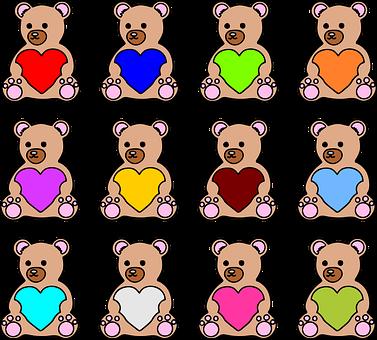 Bears, Teddy Bears, Toys, Cute, Children's Toys, Plush