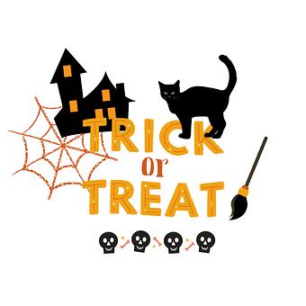 Halloween, Trick Or Treat, Icons, Halloween Icons