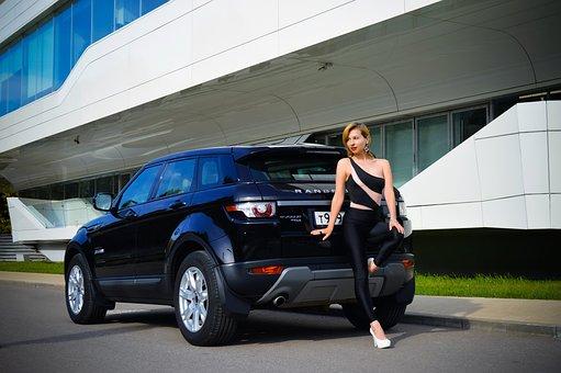 Car, Model, Portrait, Woman, Women, Lady, Young Woman