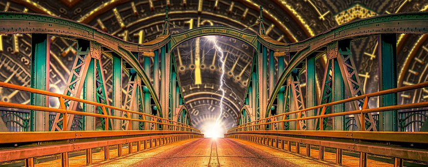 Bridge, Architecture, Time Travel, Portal, Gateway