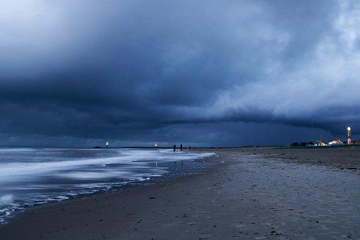 Beach, Waves, Coast, Sea, Ocean, Seashore, Shore