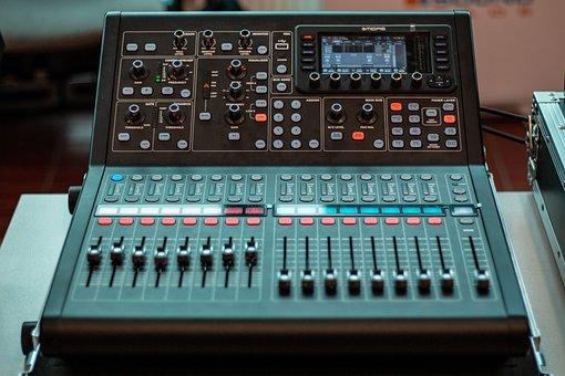 Fader, Volume Control, Audio Mixer, Console