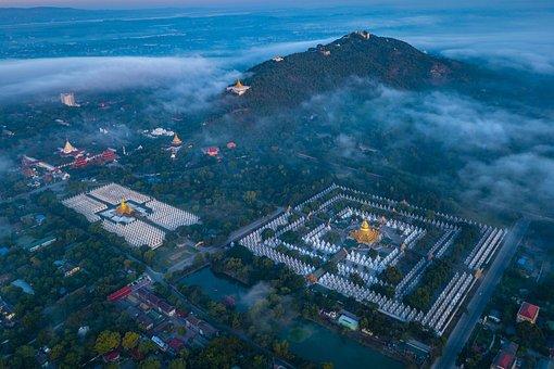 City, Temple, Landmark, Destination, Tourist Attraction