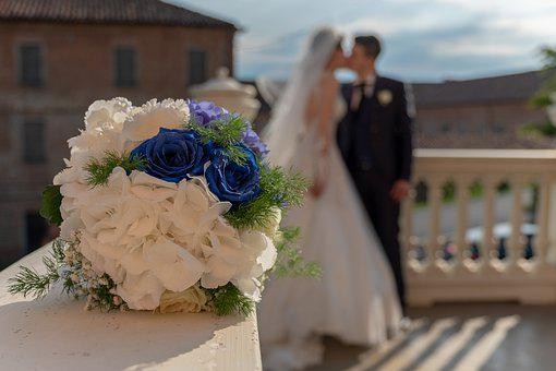 Flowers, Roses, Bouquet, Wedding, Floral, Marriage