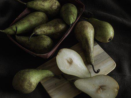 Pears, Fruit, Food, Fresh, Healthy, Vitamins, Nutrition