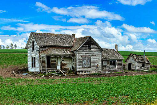 Homestead, House, Farm, Abandoned House, Abandoned