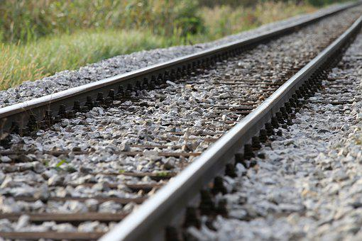 Rail, Rocks, Countryside, Railway, Rail Track, Railroad