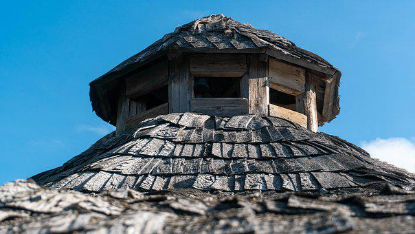 Roof, Wooden, Cabin, Wood, Roofing, Architecture, House