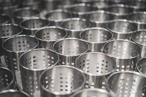 Steel, Metal, Tin, Metallic, Store, Supermarket