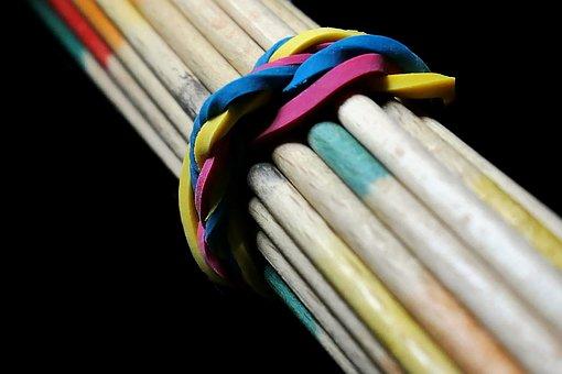 Sticks, Pick-up Sticks, Mikado, Game, Play