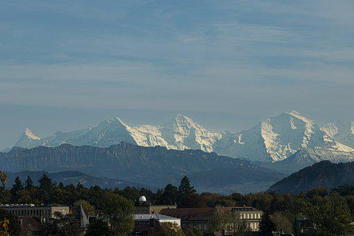 Mountains, Mountain Range, Alpine, Eiger, Bernese Alps