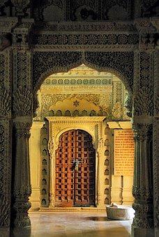 Arch, Archway, Door, Gate, Entrance, Portal, Temple
