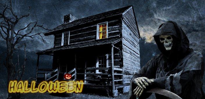 Halloween, Haunted House, Horror, Creepy, Dark