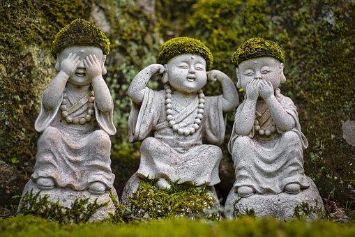 Statues, Sculptures, Buddhas, Little Buddhas