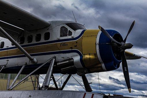 Plane, Propeller, Aviation, Classic, Military, Biplane
