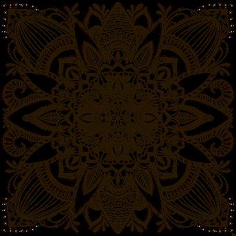 Mandala, Ornament, Decoration, Decor, Decorative