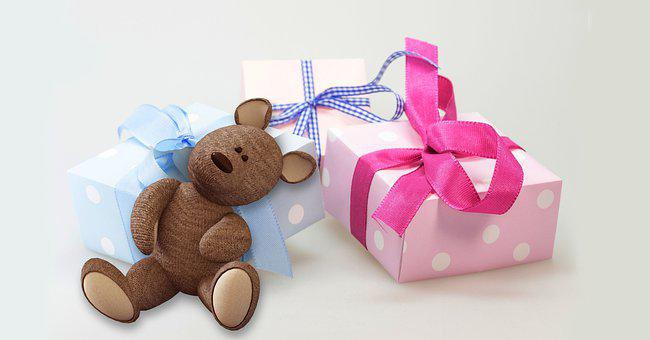 Gifts, Teddy Bear, Presents, Toy, Cute, Stuffed Animal