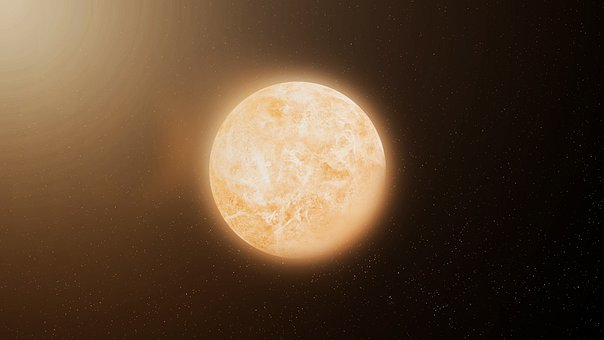 Space Art, Planet, Space, Abstract, Astronomy, Sun