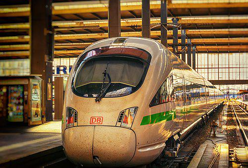 Train, Railway Station, Train Tracks, Railroad