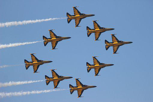 Aircrafts, Army, Military, Air Force, Airshow