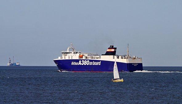 Ship, Ocean, Cargo, Freight, Cargo Ship, Freight Ship