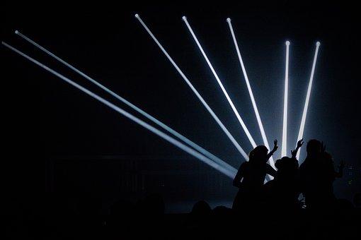 Performers, Dancing, Silhouette, Dance, Dancers