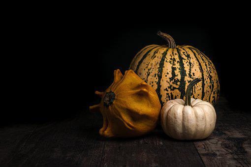 Pumpkins, Vegetables, Food, Autumn, Halloween, October