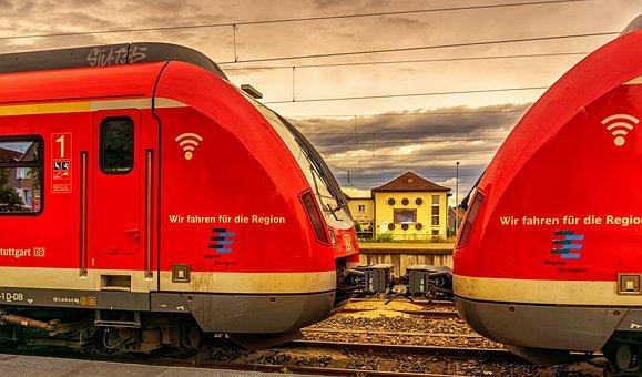 Transportation, Train, Rail Tracks, Rail, Railway