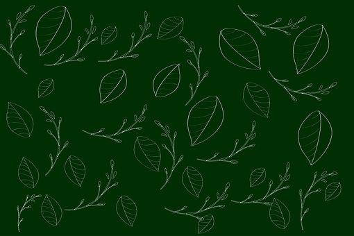 Leaves, Foliage, Plants, Background, Spring, Design