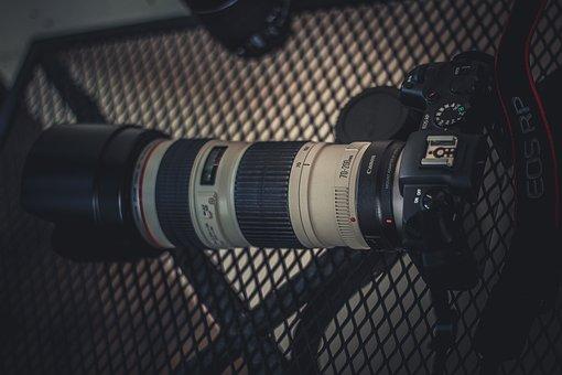 Canon, Camera, Lens, Dslr, Mirrorless