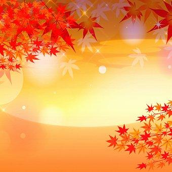 Digital Paper, Leaves, Autumn, Fall, Foliage, Plant