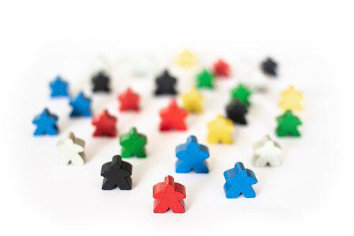 Game Characters, Figures, Toys, Colorful