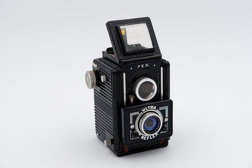 Camera, Vintage, Retro, Old, Film, Analog, Lens