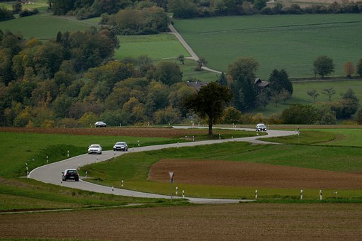 Road, Traffic, Rural, Roadway, Route, Drive, Landscape