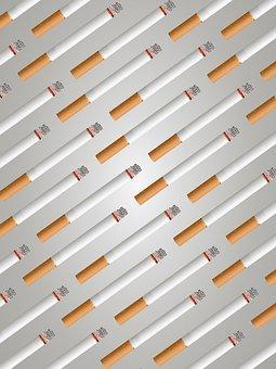 Cigarettes, Background, Pattern, Poster, Design