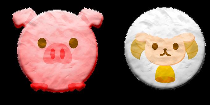 Play Dough Animals, Plasticine, Animal Faces